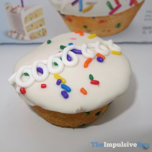 Hostess Limited Edition Birthday CupCakes Icing