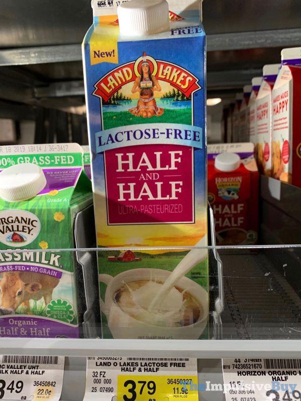 Land O Lakes Lactose Free Half and Half