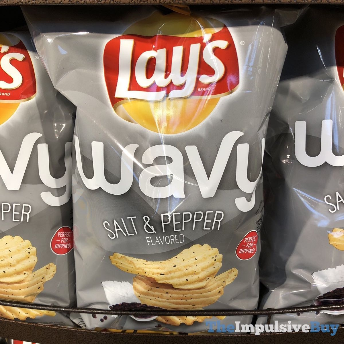 SPOTTED: Lay's Wavy Salt & Pepper Potato Chips - The