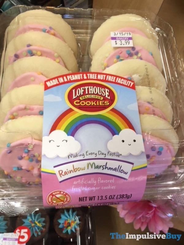 Lofthouse Cookies Rainbow Marshmallow
