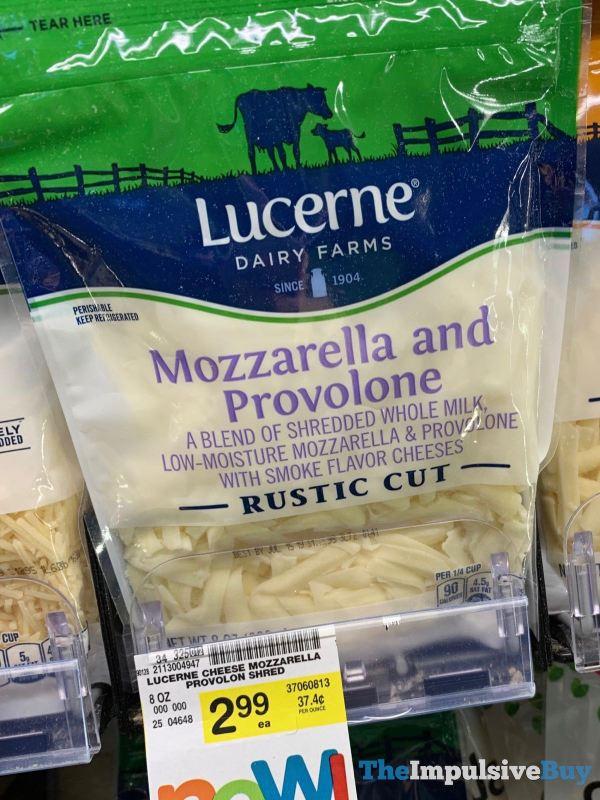 Lucerne Rustic Cut Mozzarella and Provolone