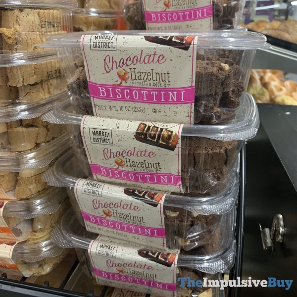 Market District Chocolate hazelnut Biscottini
