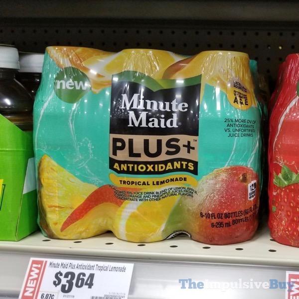 Minute Maid Plus Antioxidants Tropical Lemonade