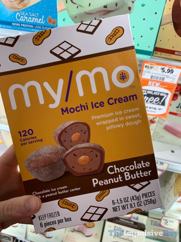 My Mo Chocolate Peanut Butter Mochi Ice Cream