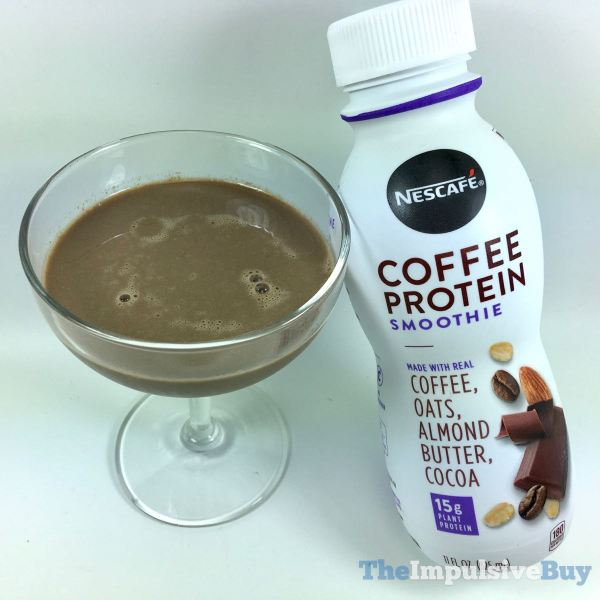 Nescafe Mocha Coffee Protein Smoothie