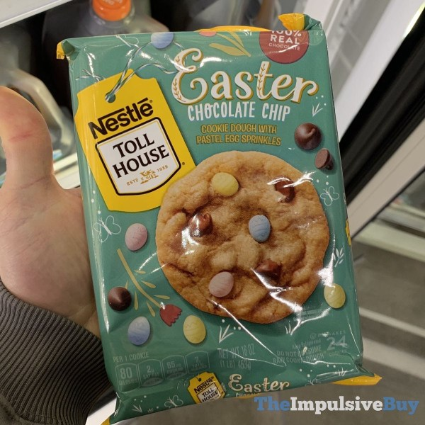 Nestle Toll House Easter Chocolate Chip Cookie Dough