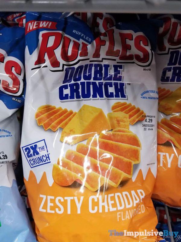 Ruffles Double Crunch Zesty Cheddar Potato Chips