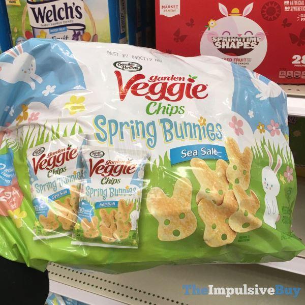 Sensible Portions Garden Veggie Chips Spring Bunnies