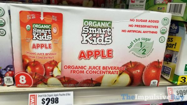 Smart Kids Organic Apple Pouches