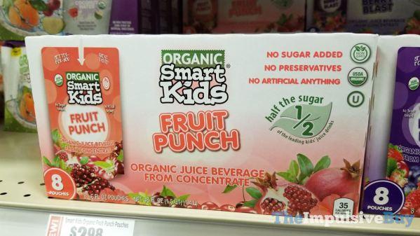 Smart Kids Organic Fruit Punch Pouches