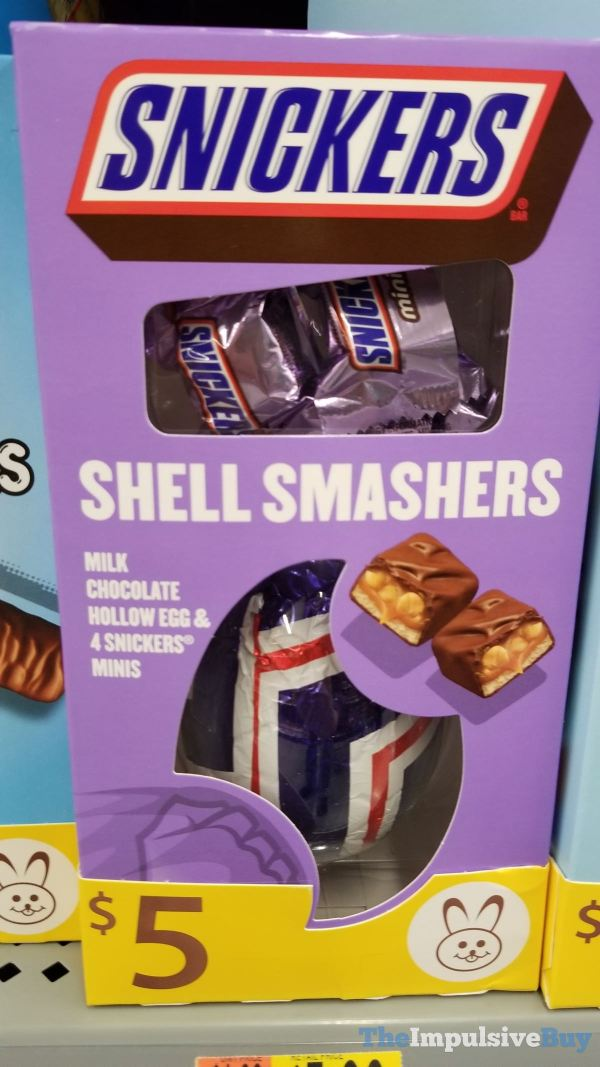 Snickers Shell Smashers