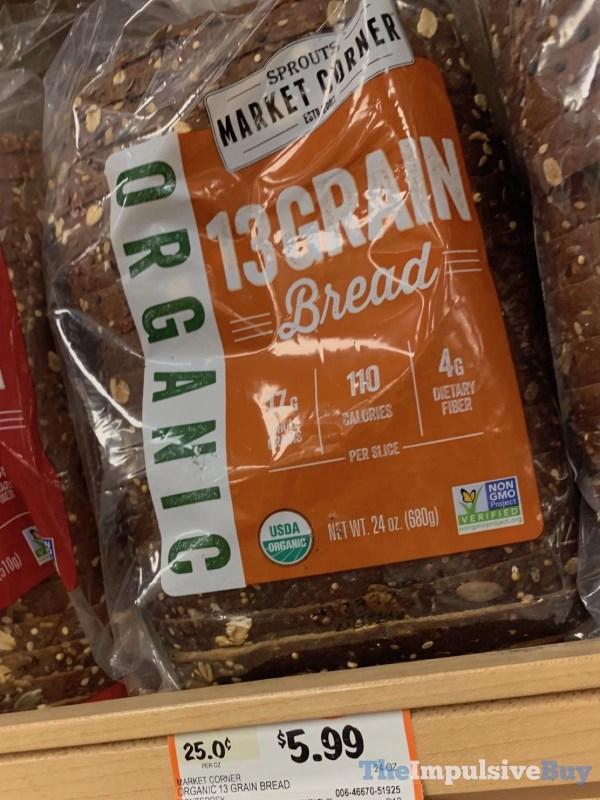 Sprouts Market Corner Organic 13 Grain Bread
