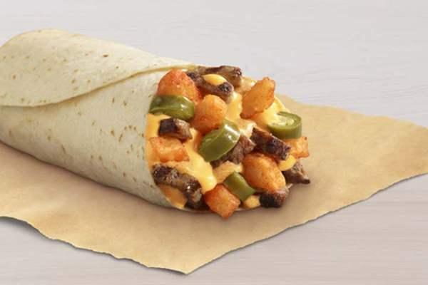 TB Rattlesnake Fries Burrito