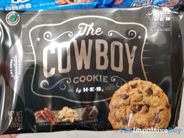 The Cowbow Cookie by H E B