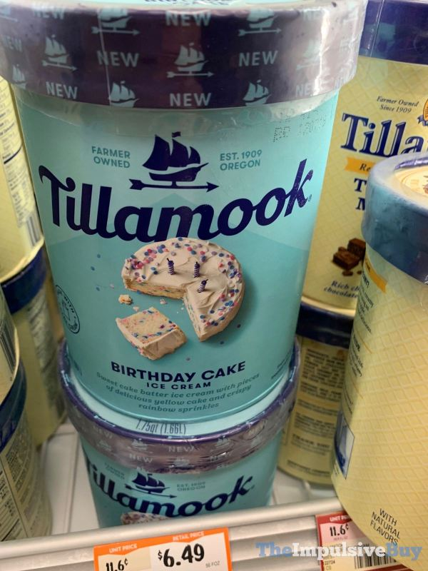 Tillamook Birthday Cake Ice Cream 2