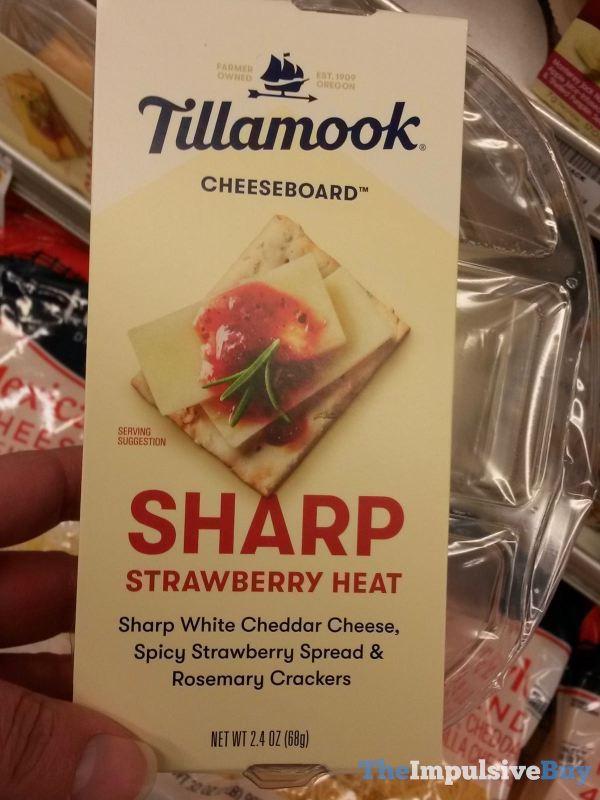 Tillamook Cheeseboard Sharp Strawberry Heat