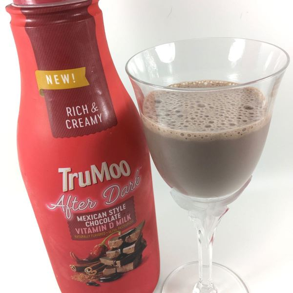 TruMoo After Dark Mexican Style Chocolate Milk Closeup