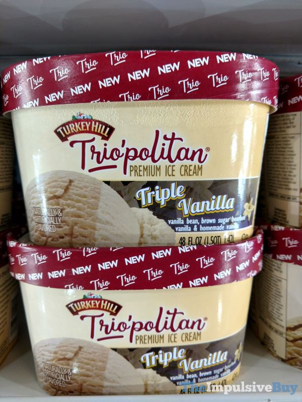 Turkey Hill Trio politan Triple Vanilla Ice Cream