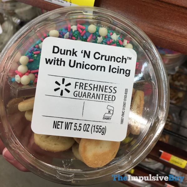 Walmart Dunk  N Crunch with Unicorn Icing
