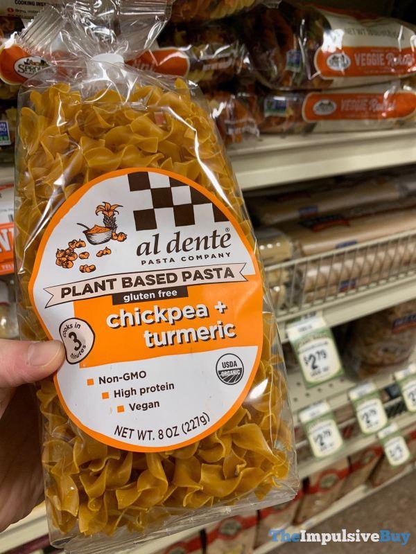 Al Dente Pasta Company Chickpea Turmeric Plant Based Pasta