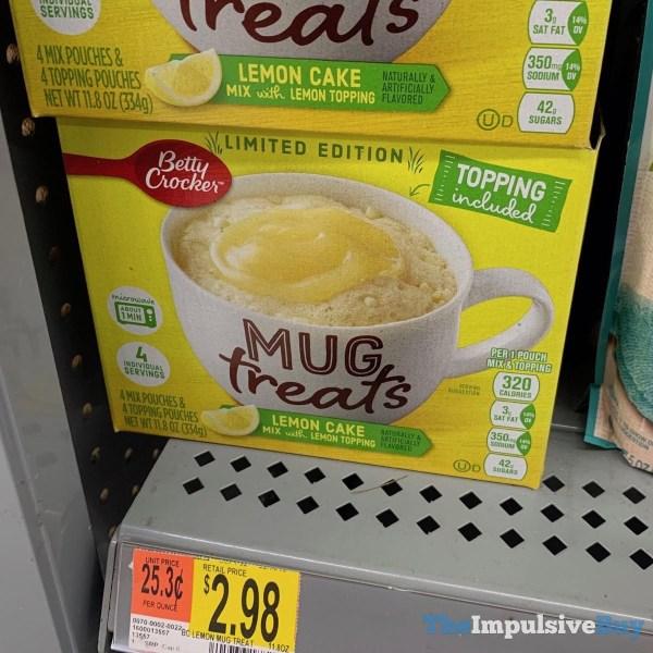 Betty Crocker Limited Edition Lemon Cake Mug Treats