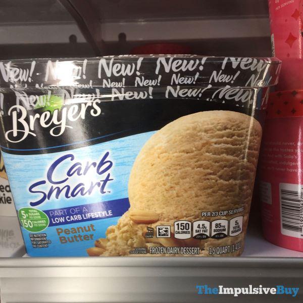 Breyers Carb Smart Peanut Butter Frozen Dairy Dessert