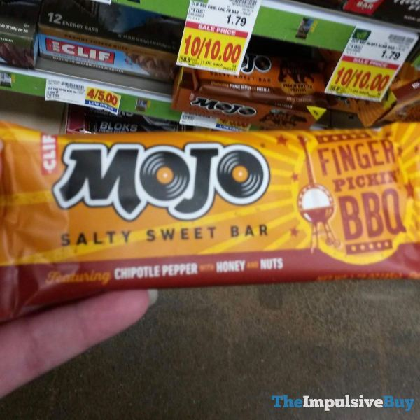 Clif Mojo Finger Pickin BBQ Salty Sweet Bar