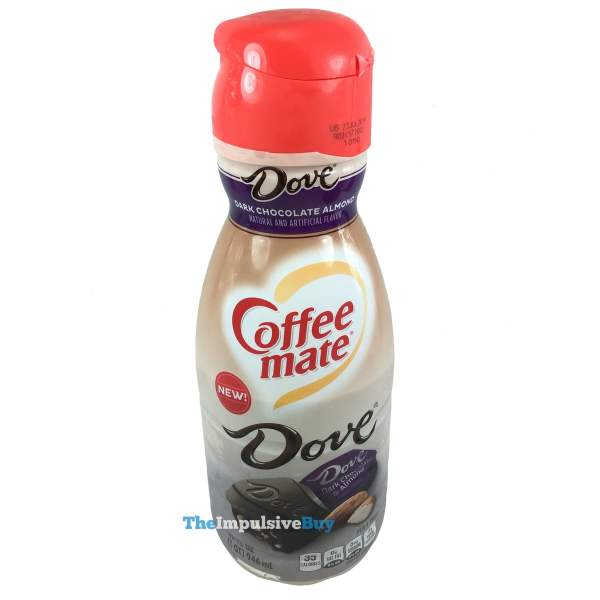 Coffee mate Dove Dark Chocolate Almond Creamer