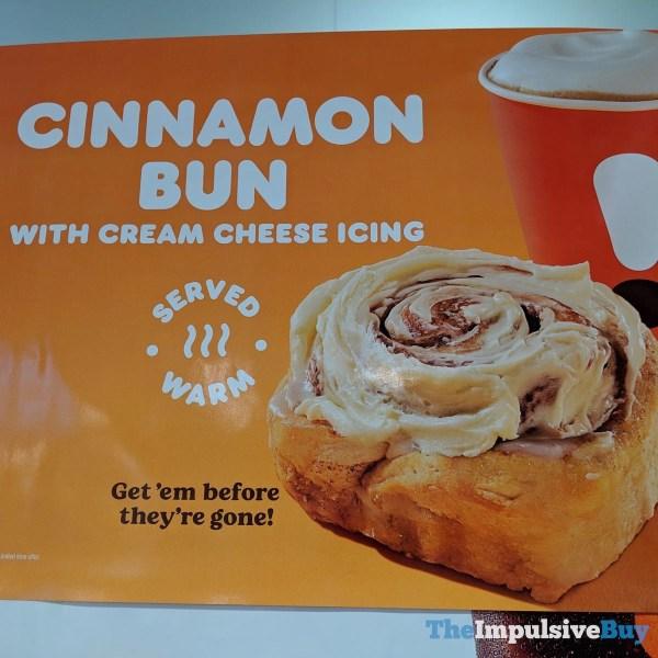 Dunkin Cinnamon Bun