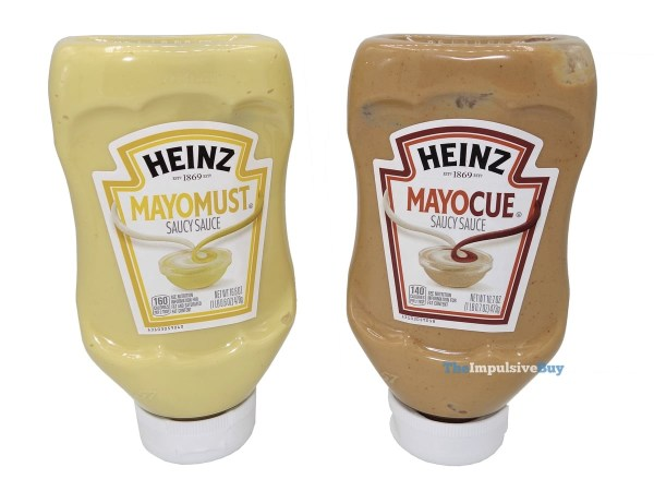 Heinz Mayomust and Mayocue Saucy Sauces
