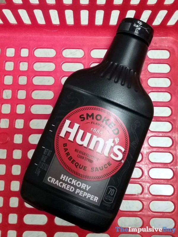 Hunt s Hickory Cracked Pepper Barbeque Sauce