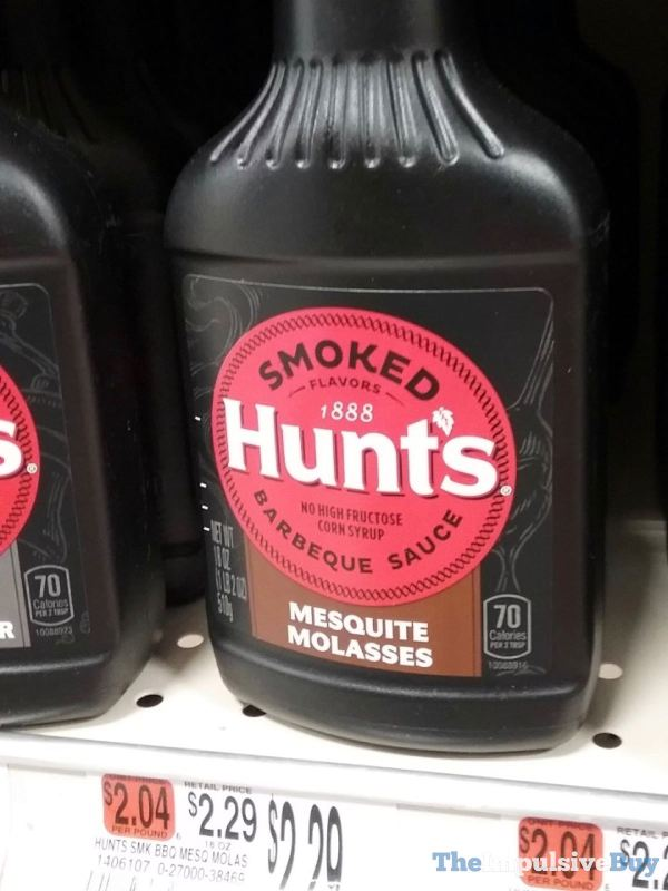 Hunt s Mesquite Molasses Barbeque Sauce