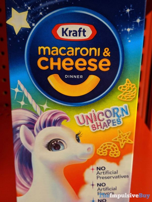 Kraft Macaroni  Cheese Dinner Unicorn Shapes