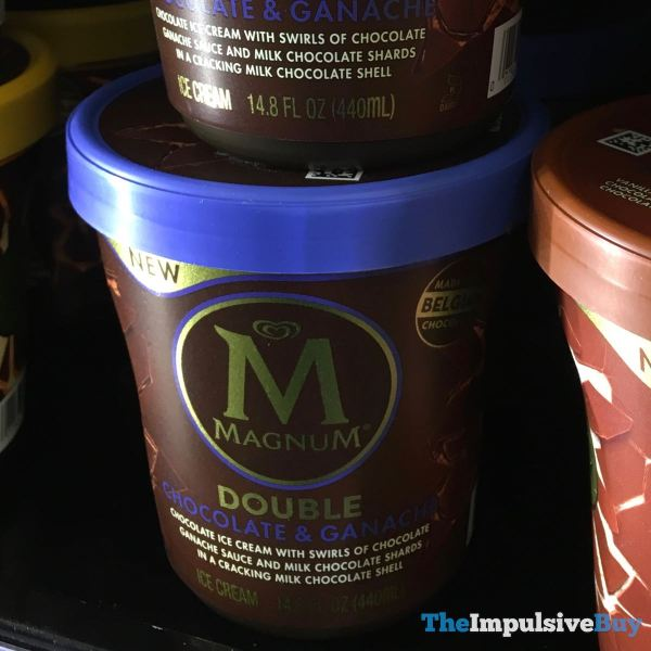 Magnum Double Chocolate  Ganache Ice Cream Tub