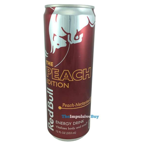 Red Bull Peach Edition