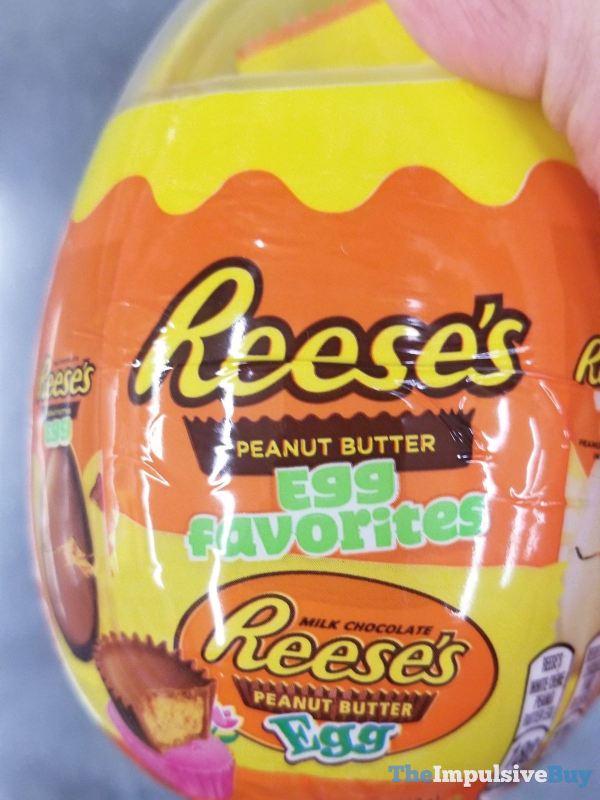 Reese s Peanut Butter Egg Favorites Egg