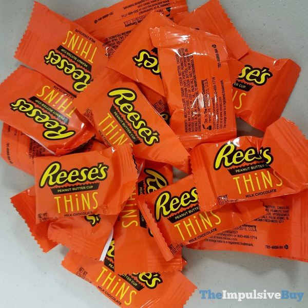 Reese s Thins Peanut Butter Cups Wrappers
