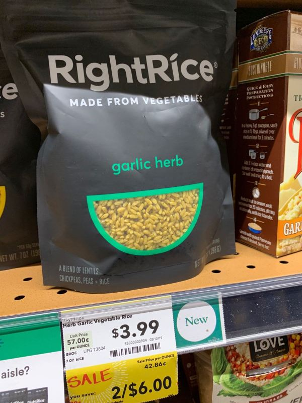 RightRice Garlic Herb