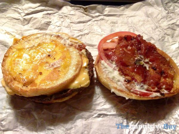Sonic Brunch Burger Eggs