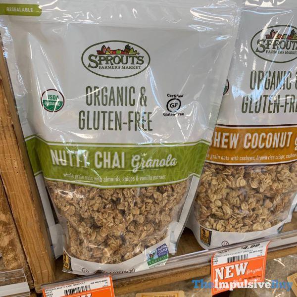 Sprouts Organic  Gluten Free Nutty Chai Granola