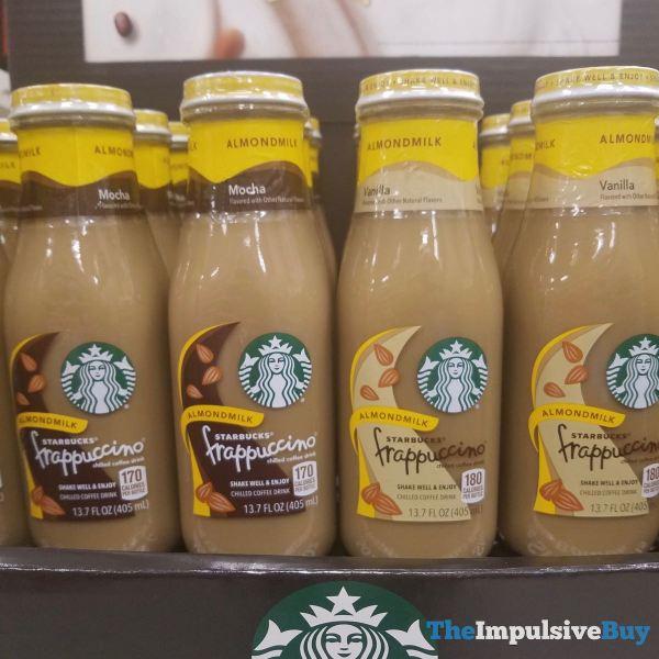 Starbucks Frappuccino Almond Milk  Mocha and Vanilla