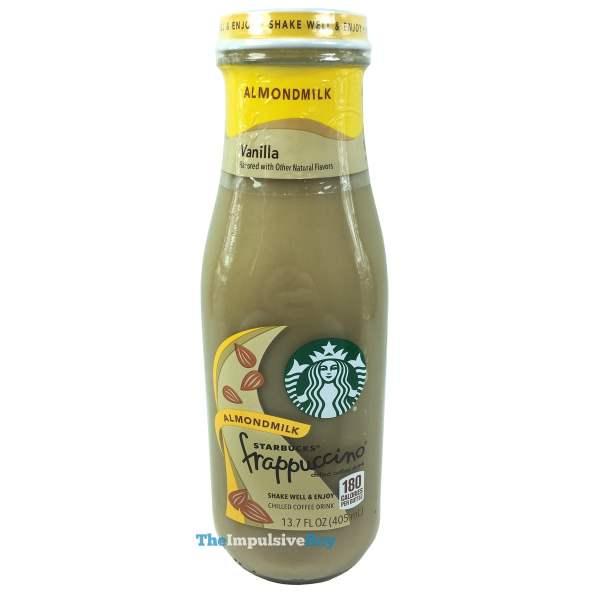 Starbucks Vanilla Almondmilk Frappuccino