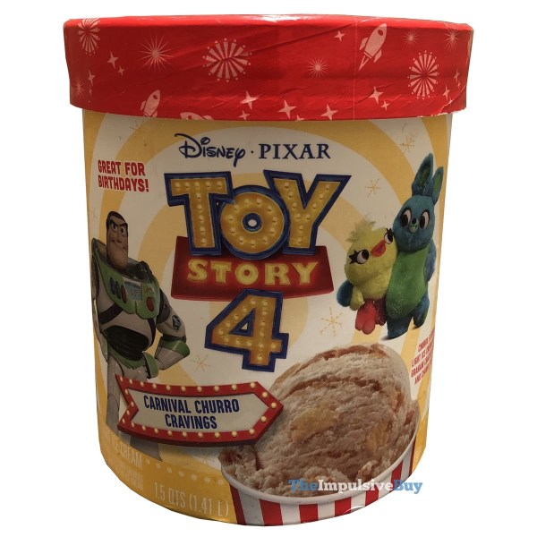 Toy Story 4 Carnival Churro Cravings Ice Cream
