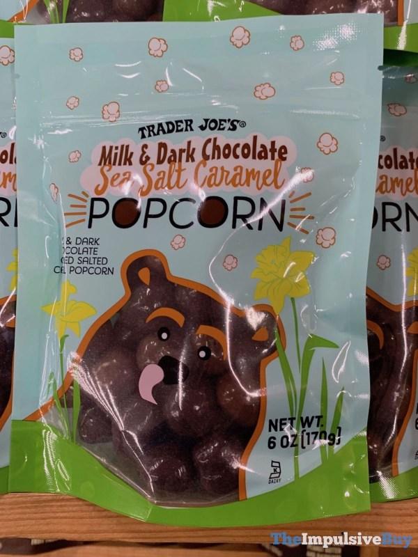 Trader Joe s Milk  Dark Chocolate Sea Salt Caramel Popcorn