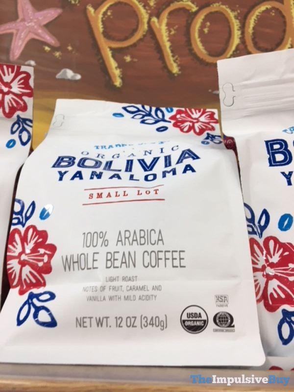 Trader Joe s Organic Bolivia Yanaloma Small Lot Coffee