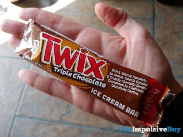 Twix Triple Chocolate Ice Cream Bars 2