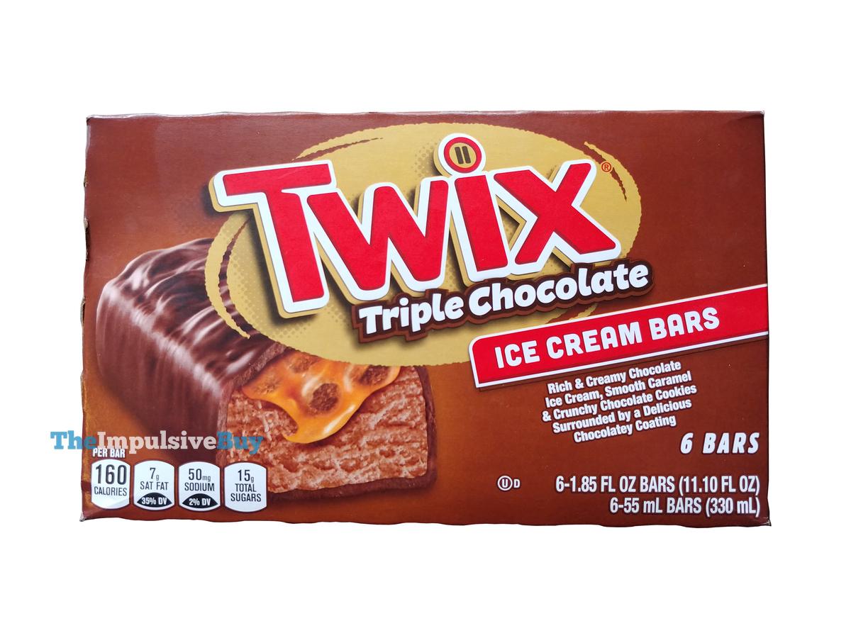 REVIEW: Twix Triple Chocolate Ice Cream Bars