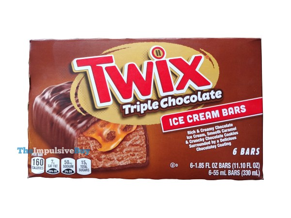Twix Triple Chocolate Ice Cream Bars
