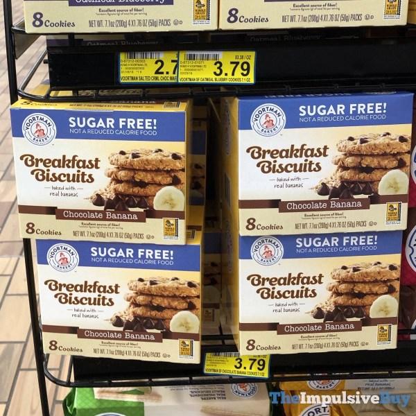 Voortman Bakery Chocolate Banana Breakfast Biscuits