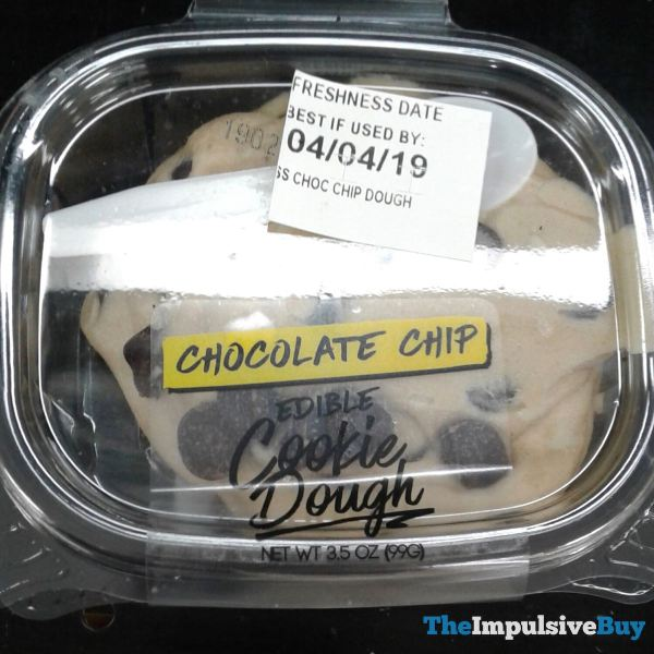 Walmart Chocolate Chip Edible Cookie Dough